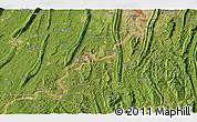 Satellite 3D Map of Dadukou