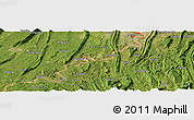 Satellite Panoramic Map of Fuxingchang