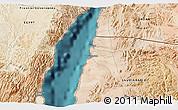Satellite 3D Map of Ţābā