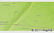 """Physical 3D Map of the area around 29°16'6""""N,46°49'30""""E"""