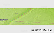 "Physical Panoramic Map of the area around 29° 16' 6"" N, 46° 49' 30"" E"