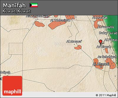 Satellite 3D Map of Manīfah