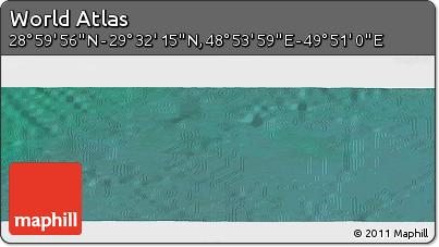 "Satellite Panoramic Map of the Area around 29°16'6""N,49°22'30""E"