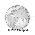 "Outline Map of the Area around 29° 16' 6"" N, 50° 13' 30"" E, rectangular outline"