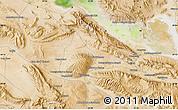 "Satellite Map of the area around 29°16'6""N,53°37'30""E"