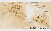 Satellite 3D Map of Sīrjān