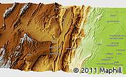 Physical 3D Map of Regwāsh
