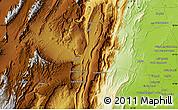 Physical Map of Regwāsh