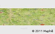 Satellite Panoramic Map of Muzaffarnagar