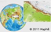 Physical Location Map of Dilārī