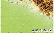 Physical Map of Dilārī