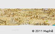 Satellite Panoramic Map of Xungru