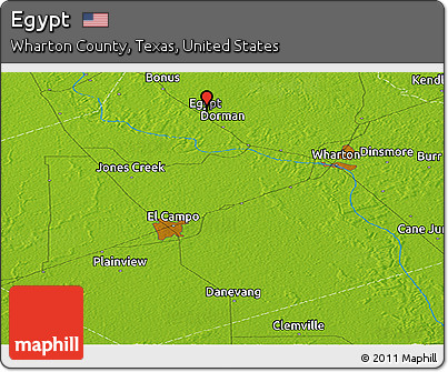 Free Physical Panoramic Map Of Egypt - Map of egypt texas