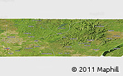 Satellite Panoramic Map of Dabaochang