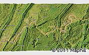 Satellite 3D Map of Anzhen