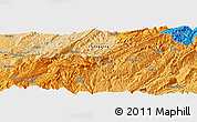 """Political Panoramic Map of the area around 29°44'59""""N,108°1'30""""E"""