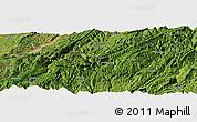 "Satellite Panoramic Map of the area around 29°44'59""N,108°1'30""E"