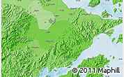 Political Map of Ningbo
