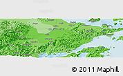 Political Panoramic Map of Ningbo