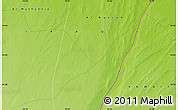 """Physical Map of the area around 29°44'59""""N,46°49'30""""E"""