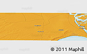 """Political Panoramic Map of the area around 29°44'59""""N,47°40'29""""E"""