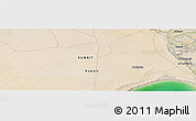 "Satellite Panoramic Map of the area around 29°44'59""N,47°40'29""E"
