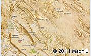 "Satellite Map of the area around 29°44'59""N,51°55'29""E"