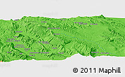 """Political Panoramic Map of the area around 29°44'59""""N,51°55'29""""E"""