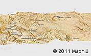 "Satellite Panoramic Map of the area around 29°44'59""N,51°55'29""E"