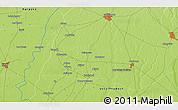 Physical 3D Map of Sahāranpur