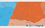 Political 3D Map of Sahāranpur