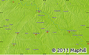 """Physical Map of the area around 29°44'59""""N,96°49'29""""W"""