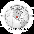 Outline Map of Nickel, rectangular outline