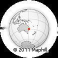 Outline Map of Dundurrabin, rectangular outline