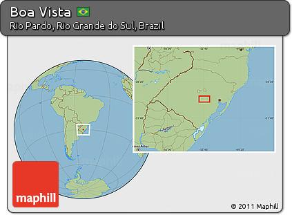 Rio Pardo Rio Grande do Sul fonte: maps.maphill.com