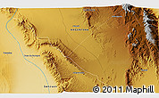 Physical 3D Map of Ichigualasto
