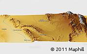 Physical Panoramic Map of Ichigualasto