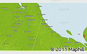 Physical 3D Map of Totolan