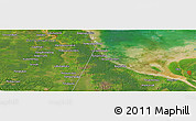 "Satellite Panoramic Map of the area around 2° 16' 34"" N, 100° 22' 30"" E"