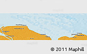 """Political Panoramic Map of the area around 2°16'34""""N,101°13'29""""E"""