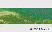 "Satellite Panoramic Map of the area around 2°16'34""N,101°13'29""E"