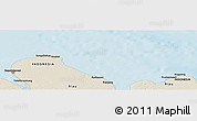 """Shaded Relief Panoramic Map of the area around 2°16'34""""N,101°13'29""""E"""