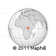 Outline Map of Mawele, rectangular outline