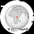 Outline Map of Zeu, rectangular outline