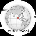 Outline Map of Laebenten, rectangular outline