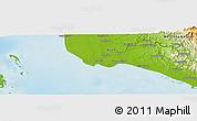 Physical Panoramic Map of Laebenten