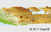 Physical Panoramic Map of Hutahutang