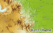 Physical Map of Janji