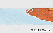 Political Panoramic Map of Klang