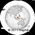 Outline Map of Tatau, rectangular outline